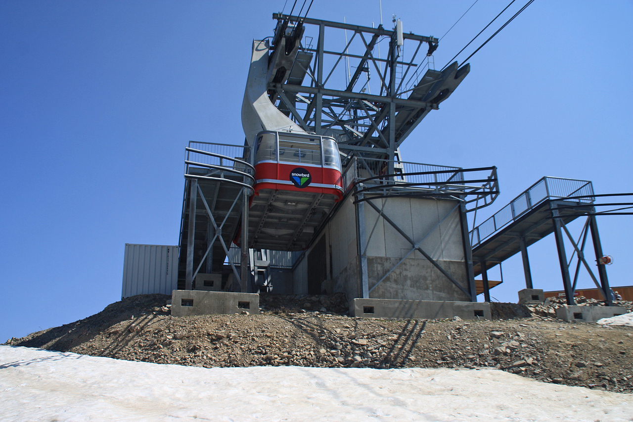 Aerial Tram at Hidden Peak