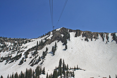 Aerial Tram to Hidden Peak
