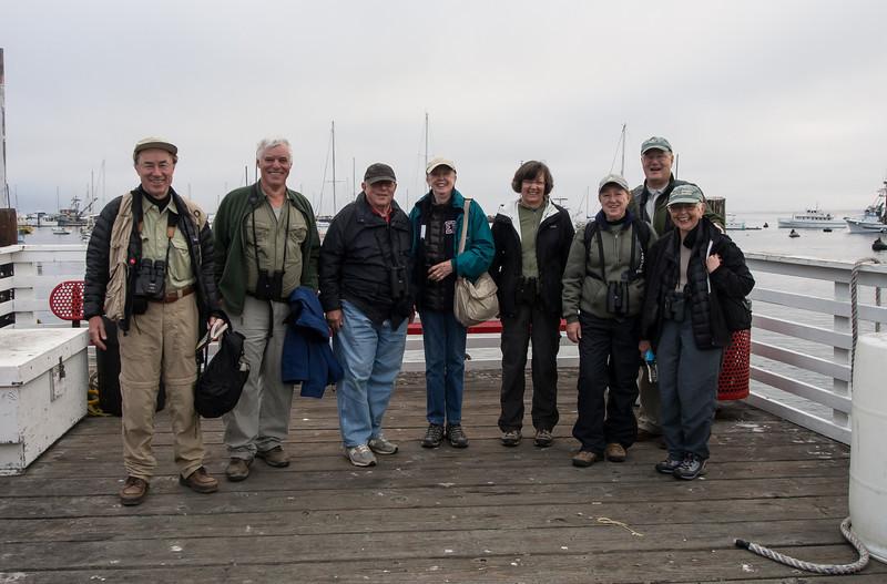 The Happy Warblers Group: Wolfgang, Joe, Al, Sandy, Debbie, Kathy, Gerry, Eleanor