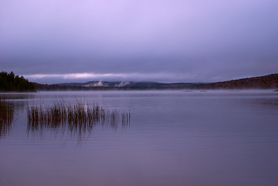 Overcast Sunrise on Lake of Two Rivers