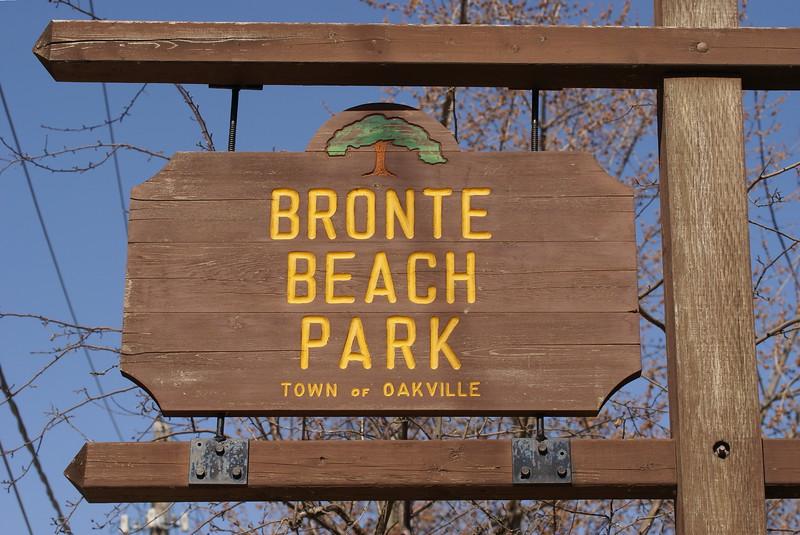 Bronte Beach Park, Oakville, ON.
