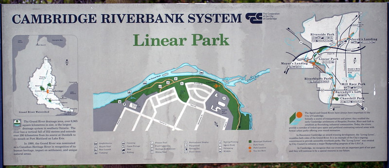 Linear Park - Cambridge, ON<br /> <br /> A historic site at the confluence of the Grand and Speed rivers.