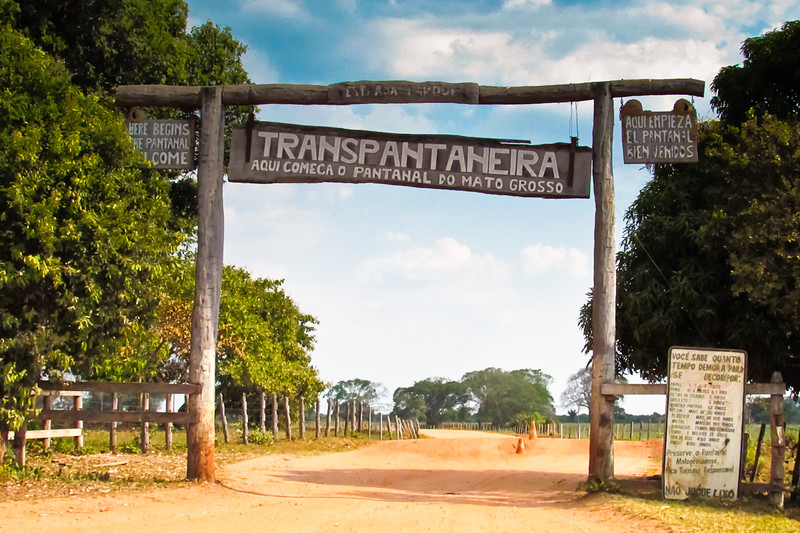 entering the northern pantanal