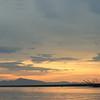 rio tarcoles, nicoya peninsula in distance
