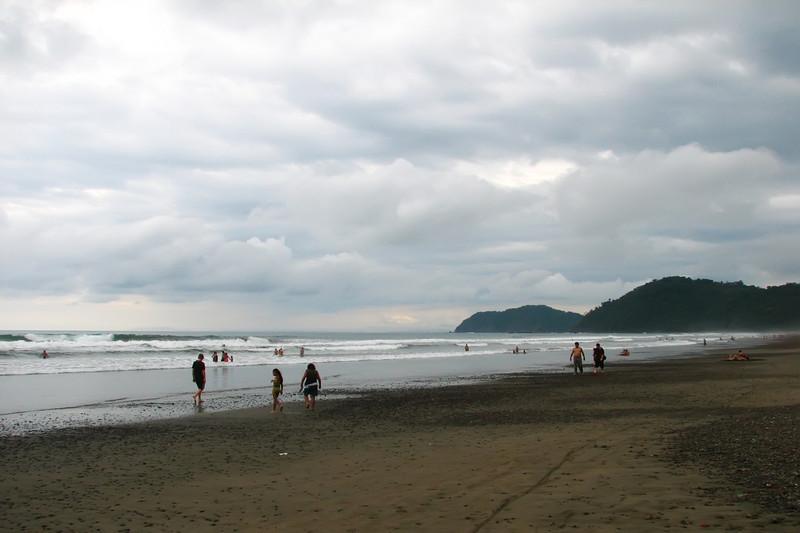 pacific ocean at Jaco beach