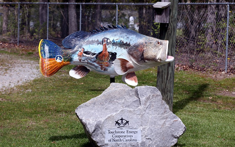 Entrance to Sylvan Heights Waterfowl Park