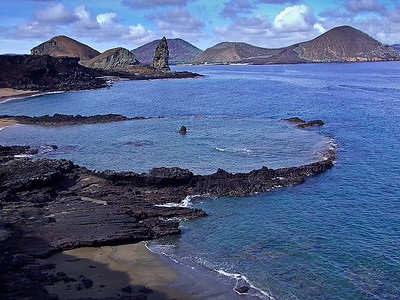 glc02: volcanic remnants on Bartolome Island