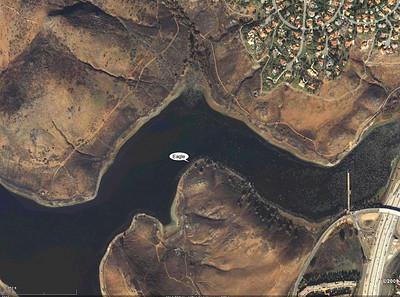 Eagle tree Lake Hodges. Google Earth