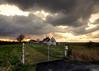 """Ruine of """"Red Gate"""" farm - hoeve Rode Poort - Uitkerkse Polders"""