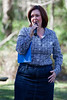 "Councillor Victoria Newton - World Migratory Bird Day, Boondall Wetlands, Brisbane. Photos by Des Thureson:  <a href=""http://disci.smugmug.com"">http://disci.smugmug.com</a>"