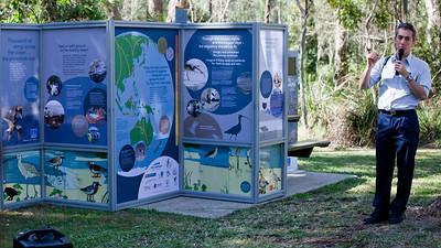David Fitzgibbon - World Migratory Bird Day, Boondall Wetlands, Brisbane. Photos by Des Thureson:  http://disci.smugmug.com