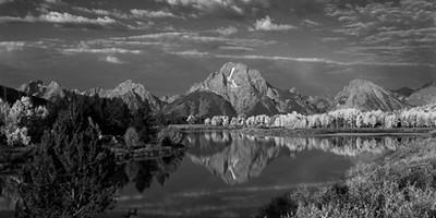 Mt Moran 1-Panoramic20x40-7800-BW