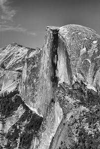 Half Dome - Ansel Adams Tribute