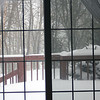 February 9, 2013 - View from the sofa in my familyroom.