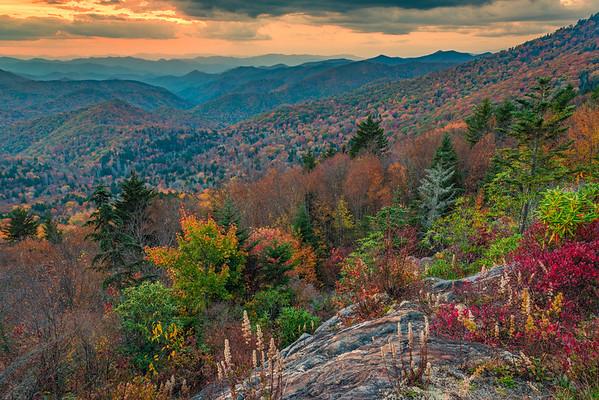 Favorite Spot on the Blue Ridge Parkway in Autumn