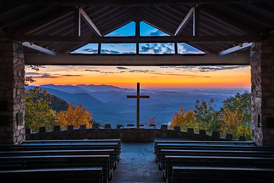 Pretty Place Chapel Autumn Sunrise