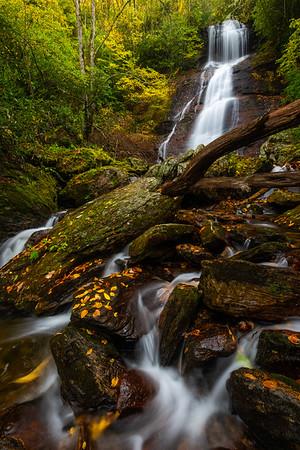 Upper Sols Creek Falls Portrait