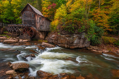 Glade Creek Grist Mill Side View
