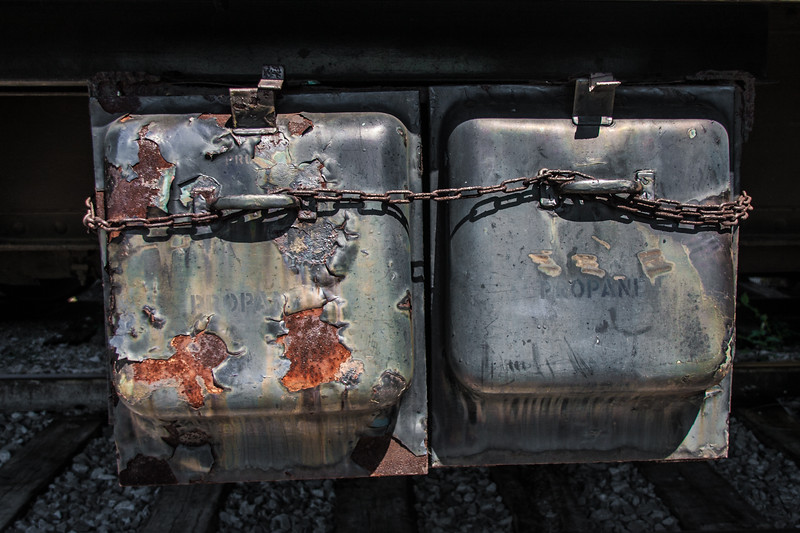 Train Propane Container