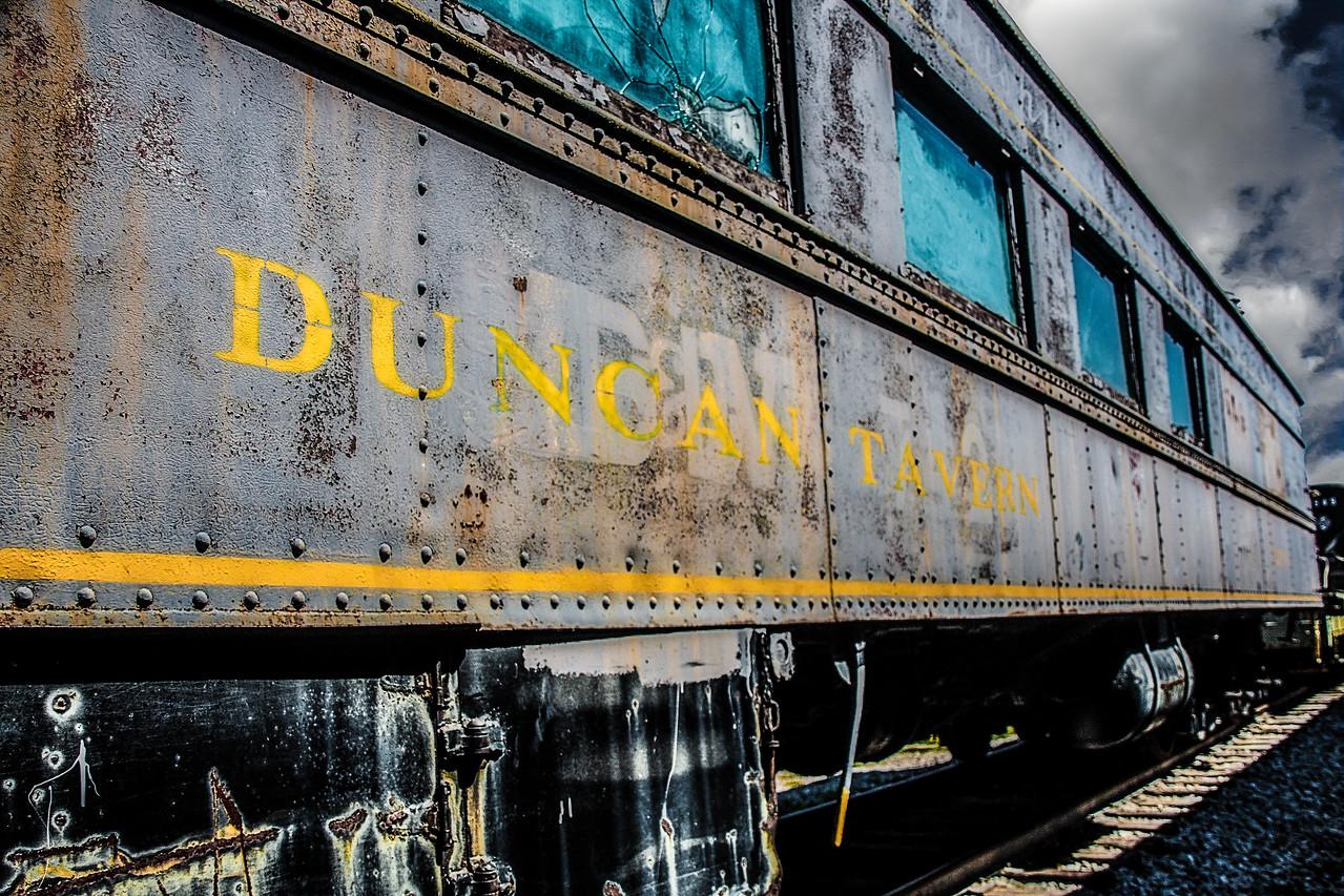 Duncan Tavern Train Car