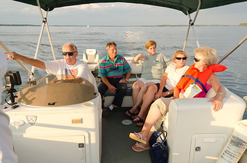 Heading to Bomb Island, Lake Murray, SC