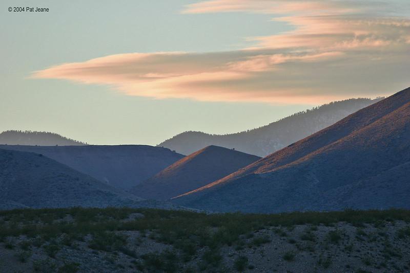 Beautiful New Mexico. 11/28/2004.