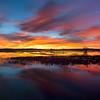 Our best sunrise. 11/29/2017. Three image panorama.