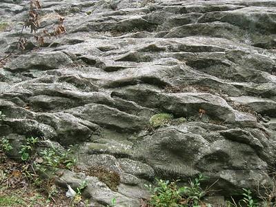 Rock formation at Hickory Run SP  - Pennsylvania  - 7/28/2010