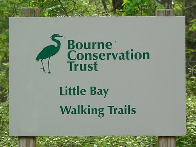Bourne Conservation Trust -- Little Bay Walking Trails Shore Road between Pocasset and Monument Beach, Cape Cod