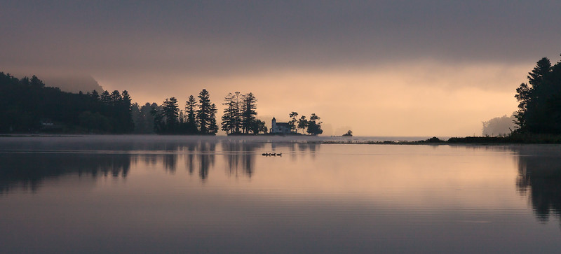 Mist on the Morning Water