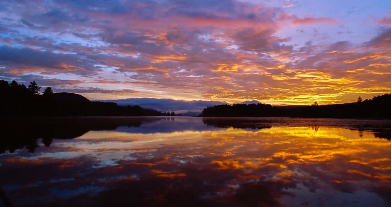 Fire in the Sky…Brant Lake, NY