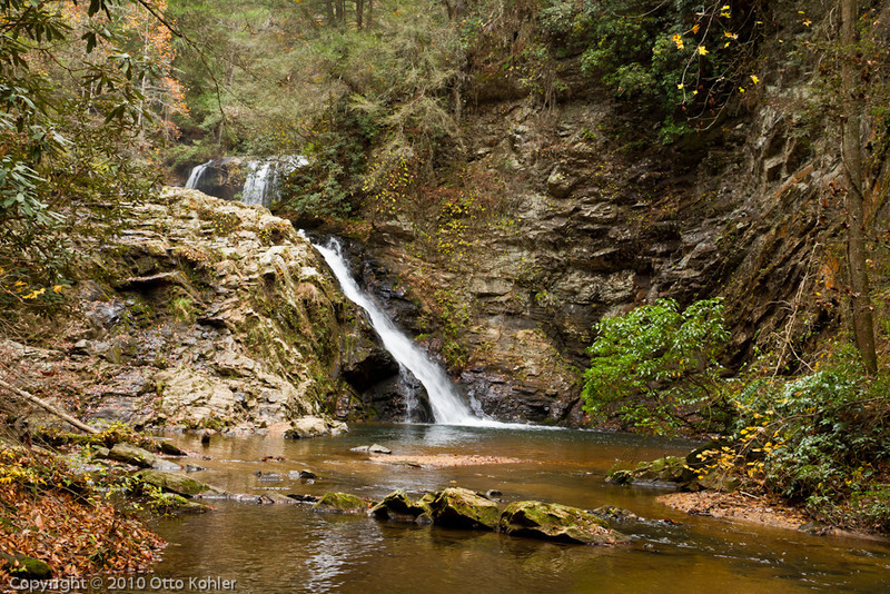 Middle and Lower Brasstown Falls