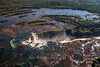 Iguassu Falls  from helicopter