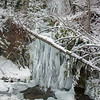 Jan12th 01 vert pan (Bridge River Canyon frozen waterfall)