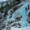 Jan06 01 vert pan (Bridge River Canyon ice climbers)