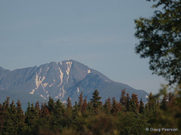 One of the peaks surrounding Brooks Camp and Lodge in the Katmai National Park.