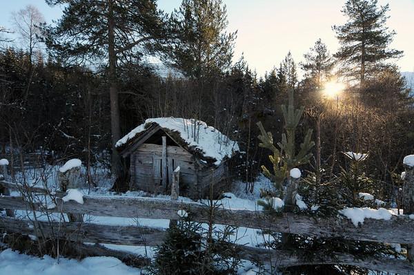 Gammal uteløa på Bordalen..23.11.2010