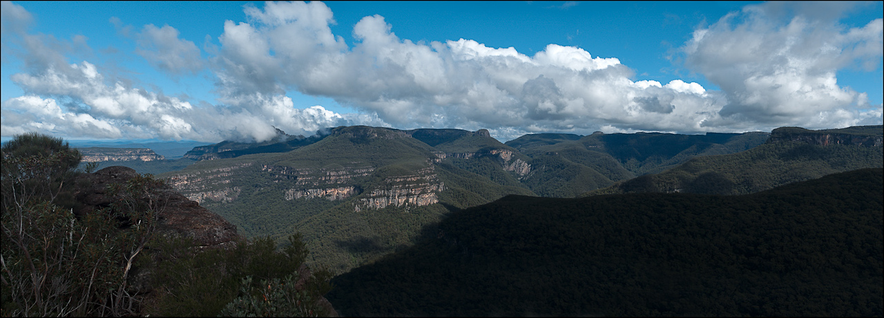 The view from the precipitous drop near watson's pass