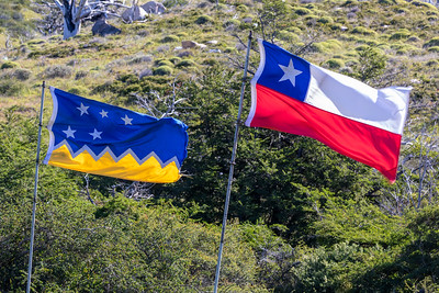 Flags of Patagonia and Chile