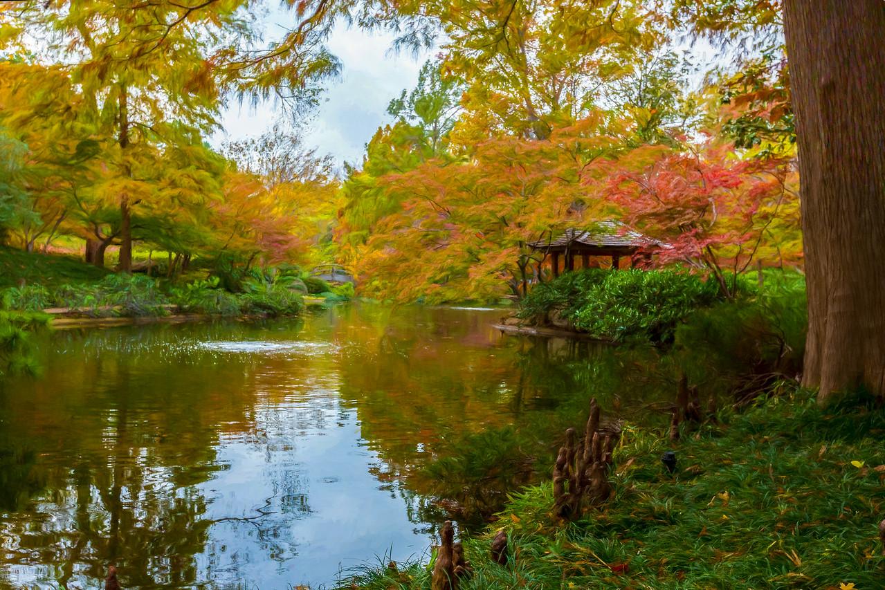 Japanese Garden, Forth Worth, Texas, 2017