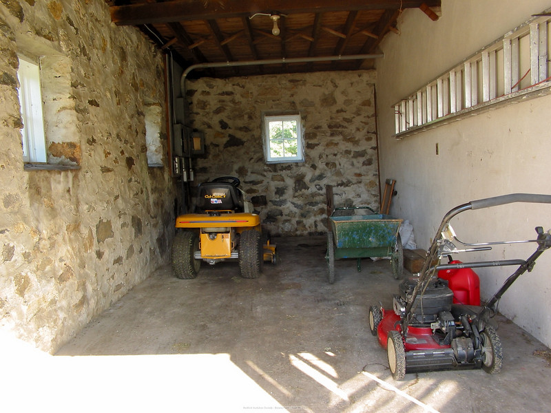 Stable Storage Area for Maintenance Equipment