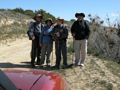 Caliente Mt. Ridge Trail dayhike April 2009