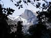 Half Dome from Upper Yosemite Falls trail