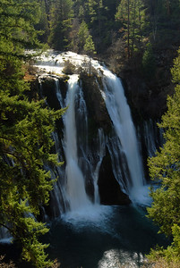 © Joseph Dougherty. All rights reserved.   McArthur-Burney Falls Memorial State Park.