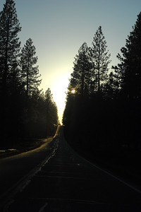 © Joseph Dougherty.  All rights reserved.   Leaving McArthur-Burney Falls Memorial State Park, heading north on Highway 89.