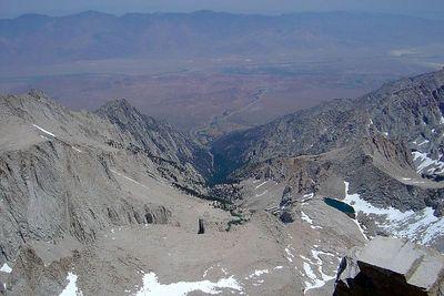 32-Mt Whitney-View from Above