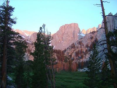 14-Mt Whitney-Daybreak on Rocks 2