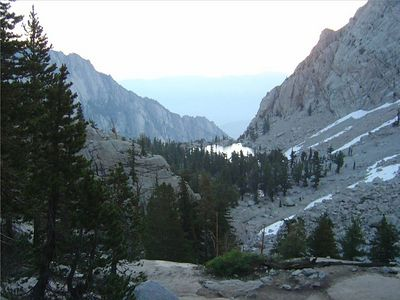 10-Mt Whitney-Day Break-View over Lone Pine