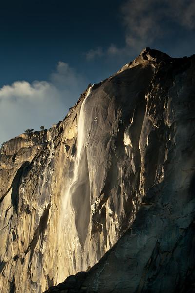 Horsetail Fall<br /> Yosemite NP, CA