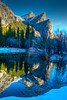 Three Brothers Sunrise<br /> Yosemite NP, CA